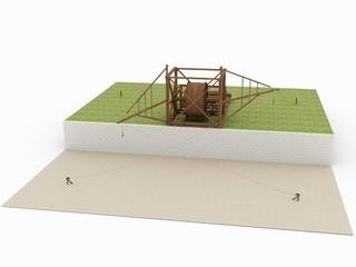 Dock crane; Leonardo da Vinci; Codex Atlanticus 0003r
