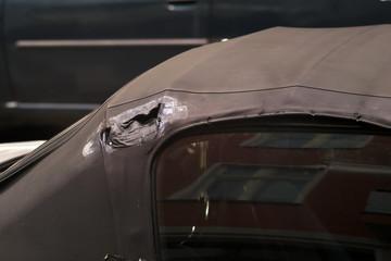 Broken old Cabrio Roof