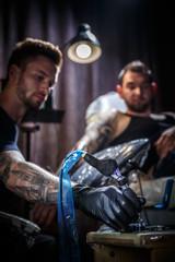 Master tattoo artist