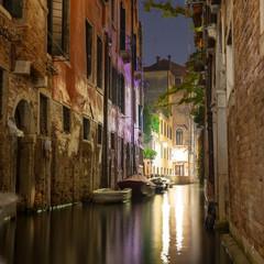 Kanał w Wenecji, Włochy