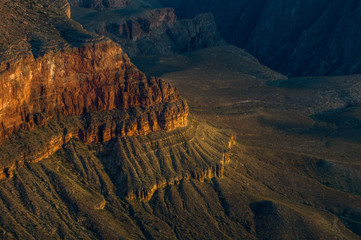 Foto op Canvas Canyon Sunrise in Grand Canyon National park