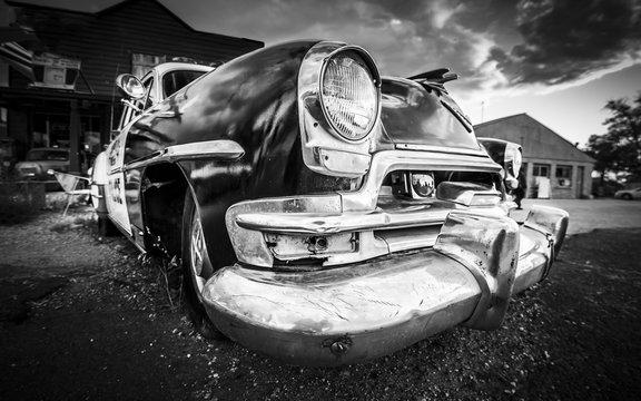 Old american car.