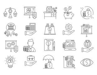 Market & Economics Icons