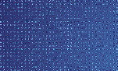Blue color gradient background and round dots. Vector illustration EPS10