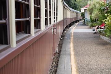 Kuranda - Bahnsteig