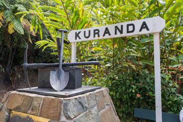 Kuranda - Bahnhof