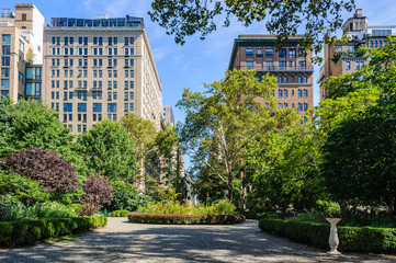 Gramercy Park, NYC, USA