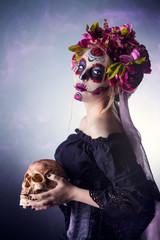 halloween and muertos