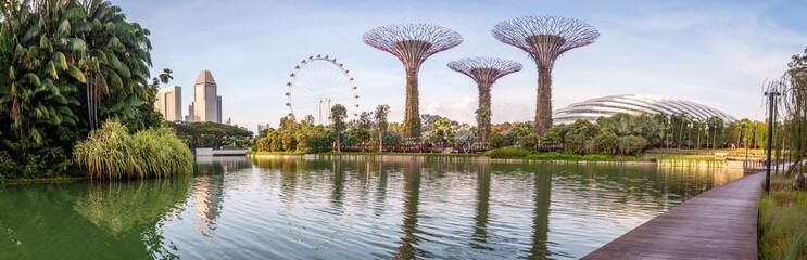 Fototapeten Singapur Jardins de Singapour