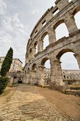 Colloseum - Croatia. Pula. Ruins of the best preserved Roman amphitheater