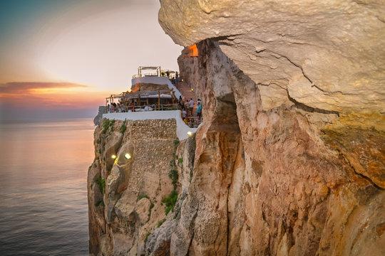 Cuevas de Xoroi Menorca Spain