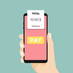 Mobile Payment. Using a mobile phone to bank and shop online.