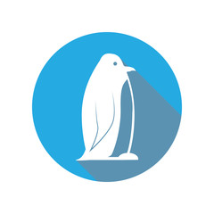 Emperor Penguin flat icon