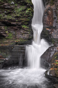 Adams Falls Splashdown - Ricketts Glen State Park, Pennsylvania