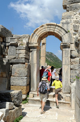 Parodos de l'odéon d'Éphèse en Anatolie
