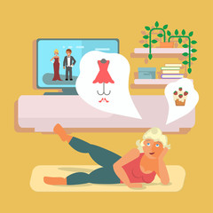 pilates and lifestyle concept