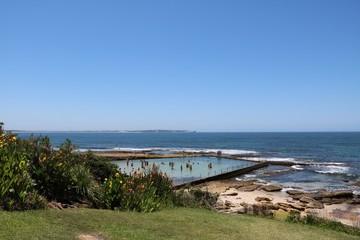 Shelly Beach and Ocean Pool in Cronulla Sydney, Australia