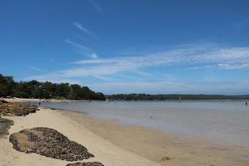 Burraneer Cronulla beach in Sydney in the summer, Australia
