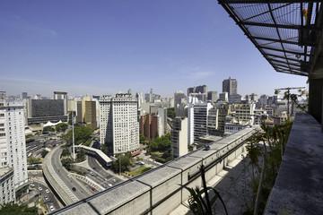 Sao Paulo city in Brazil.