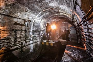 Subway tunnel. Kiev, Ukraine. Kyiv, Ukraine