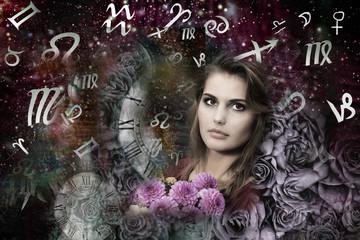 Magic fairies and zodiac signs