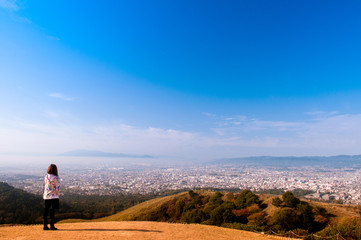 Mount Wakakusa, Nara, Japan
