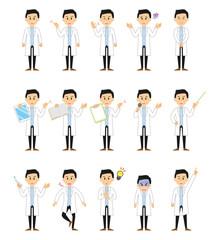 15シリーズ_白衣を着た男性