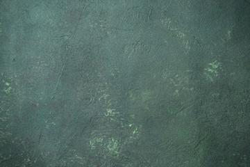 Green stone background.