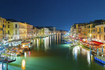 Fototapete - Grand canal of Venice, Italy