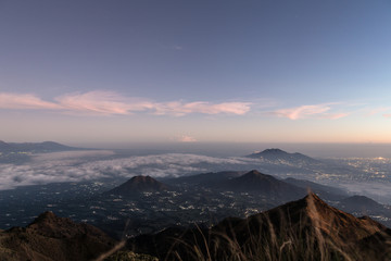 Sunrise over Java, Indonesia