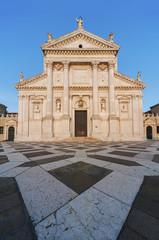 Fototapete - Venice, San Giorgio Maggiore Church landmark, San Giorgio Maggiore island, Grand Canal, Italy, Europe.