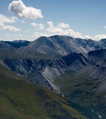 Foto op Plexiglas Panoramafoto s The highest mountain of Siberia