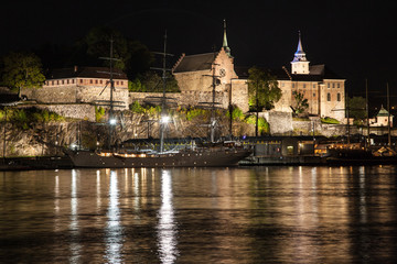 Akershus Fortress at Night