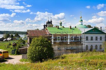 Goritsky monastery, Vologda region, Russia