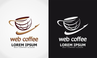 coffee icon vector logo