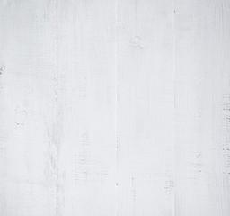 Fototapete - white wooden wall