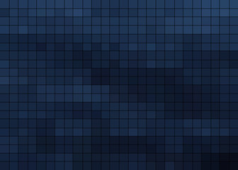 background of light and dark blue cubes