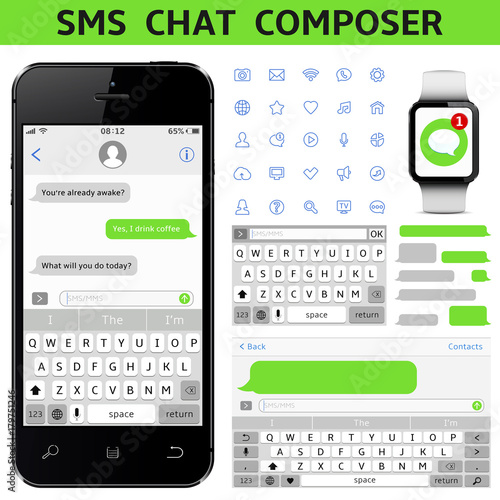 SMS Chat Composer