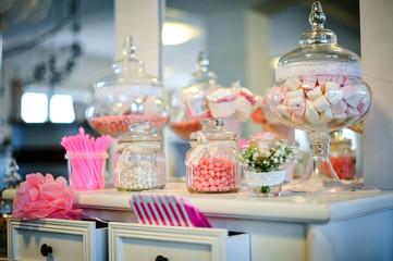 Spoed Fotobehang Snoepjes süßigkeiten