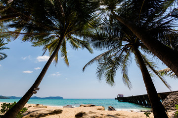 Tropical landscape of Koh Kood