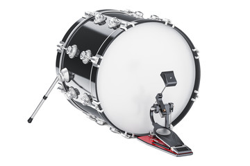 Bass Drum, 3D rendering