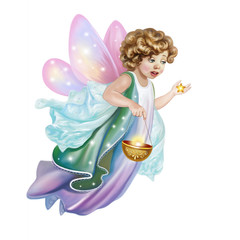 fairy holds an asterisk