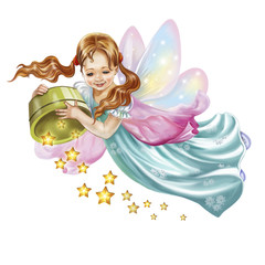 fairy scatter stars