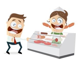butcher's shop clipart