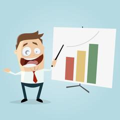 successful business presentation clipart