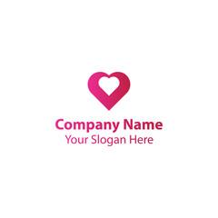 Double Love logo design