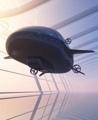 The dirigible