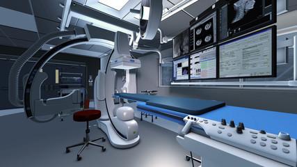 Moderner Operationssaal für Herzchirurgie