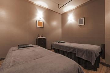 hotel massage room in seoul, korea.