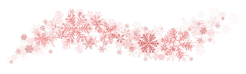 Element Swing Snowflakes red